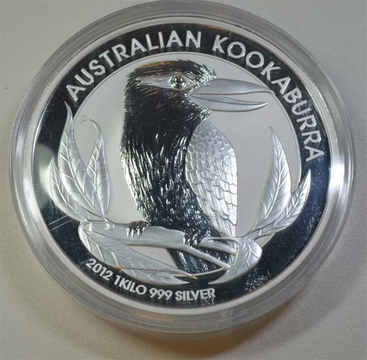Australien Kookaburra 1 Kg Feinsilber 999