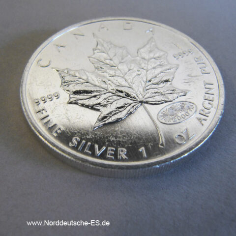Kanada Maple Leaf Silbermünze 1 OZ