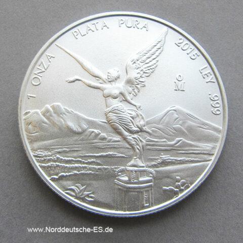 Silbermünze 1 OZ Mexiko Libertad ab 1996
