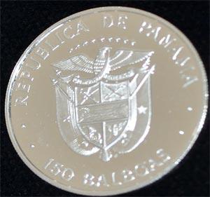 Panama-150-Balboas-Platinmuenze