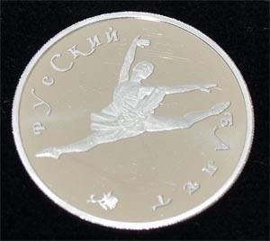 Russland Ballerina 150 Rubel 1_2oz Platin 999