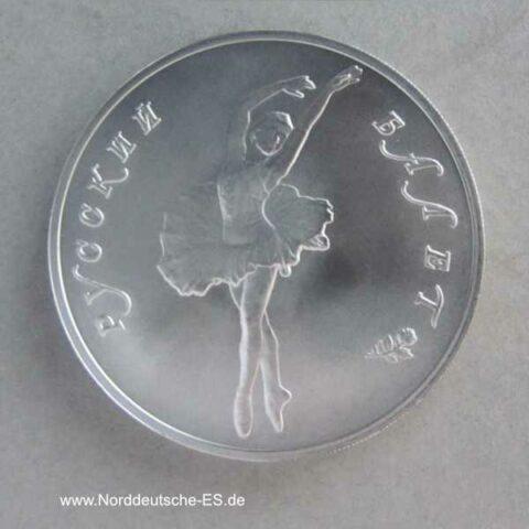 Russland 25 Rubel 1oz Palladium Ballerina 1993