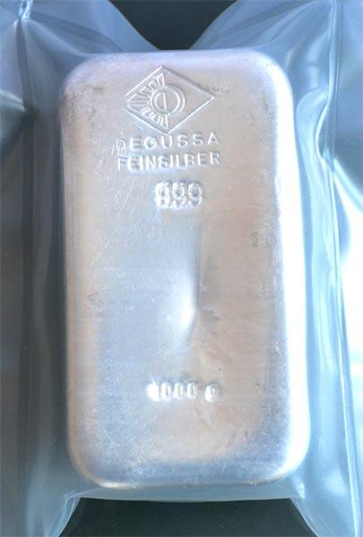 Silberbarren-1Kg