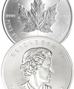 Kanada Maple Leaf 1oz Feinsilber 9999