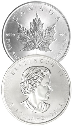 Kanada Maple Leaf 1oz Feinsilber 9999