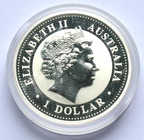Australien Kookaburra 1oz Feinsilber 999