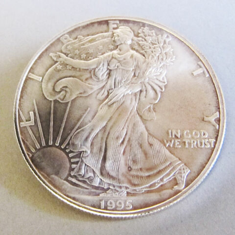 USA One Dollar American Eagle 1 oz Feinsilber 999