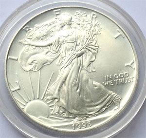USA Eagle 1 oz Feinsilber 999