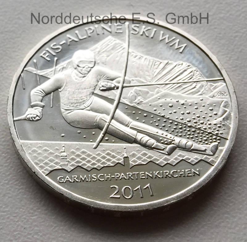 10-Euro-Silber-2011-Ski-WM