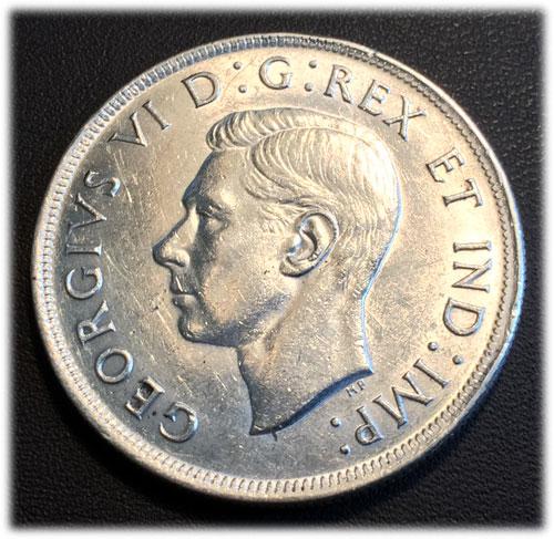 Kanada King George VI 1939 Silber 1939