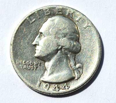 USA Quarter Silver Dollar Ausgabejahre 1944 und 1964