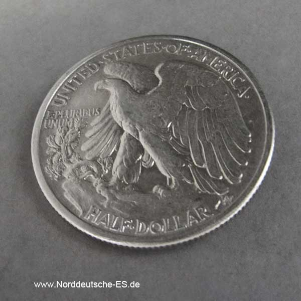 USA Half Dollar 1942 Silbermünze Liberty 50 Cents
