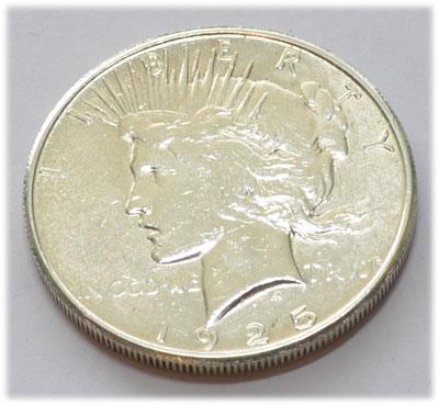 USA One Silver Dollar 1925 - Peace Dollar