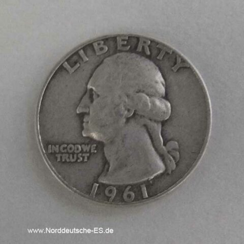 USA Quarter Dollar Silber
