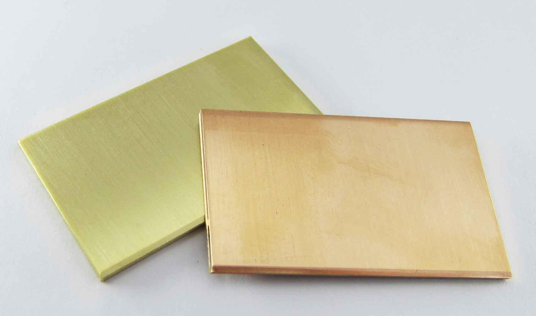 Bleche Goldblech 585er 14k Roségold