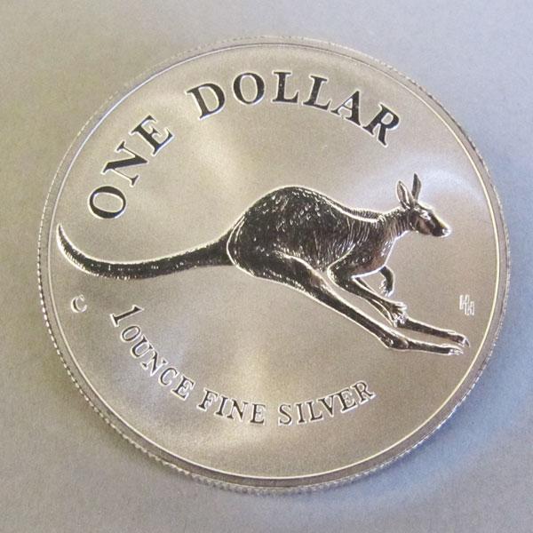 Kangaroo 1 oz Silbermünze 1994
