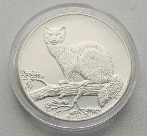 Russland 3 Rubel 1oz Feinsilber 1995 Sammlermünze