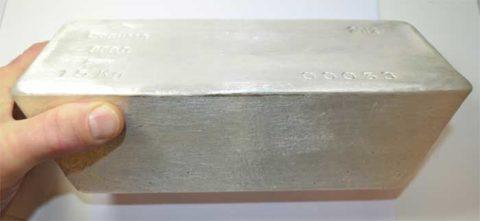 Grosse Silberbarren 1kg -15Kg