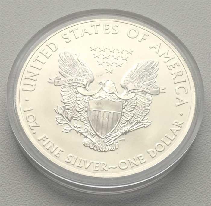 USA-1-oz-Feinsilber-golden-Liberty