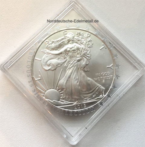 USA One Dollar Liberty 1 oz Feinsilber 999