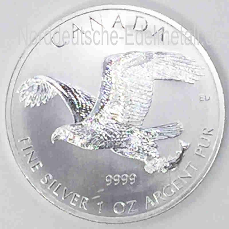 Kanada Falcon 5 Dollar 1 oz Feinsilber 9999-2014-Feinsilber