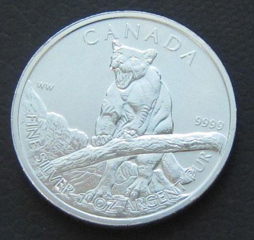Kanada 1 oz Puma 2012 Silbermünze