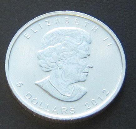 Kanada-Bergloewe 1 oz Feinsilber 9999