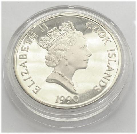 Cook Islands 100 Dollars Silber 5oz
