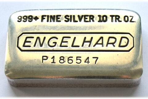 Sammlerbarren und Historische Silberbarren