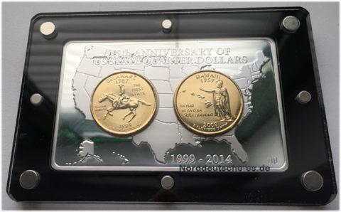 USA 2 oz Fine Silver bar 999 Sonderprägung