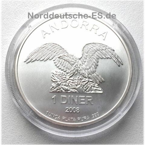 Andorra Eagle Feinsilber 999 - 1 oz