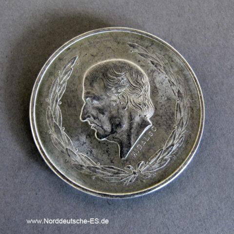 Cinco Pesos Hidalgo 1951-1954 Silber