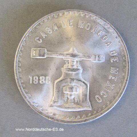 Mexiko Casa De Moneda 1 Unze Silber 1978-1980