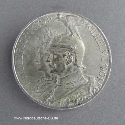 Deutsches Reich 5 Mark Friedrich I Wilhelm II 1901