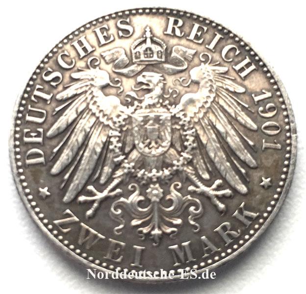 Silbermuenze-2-Mark-Friedrich-Wilhelm1901