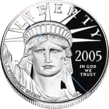 USA American Eagle 1oz Platin 9995