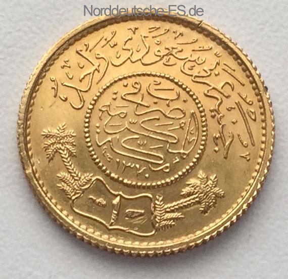 Saudi-Arabien-1-Guinea-Goldmuenze