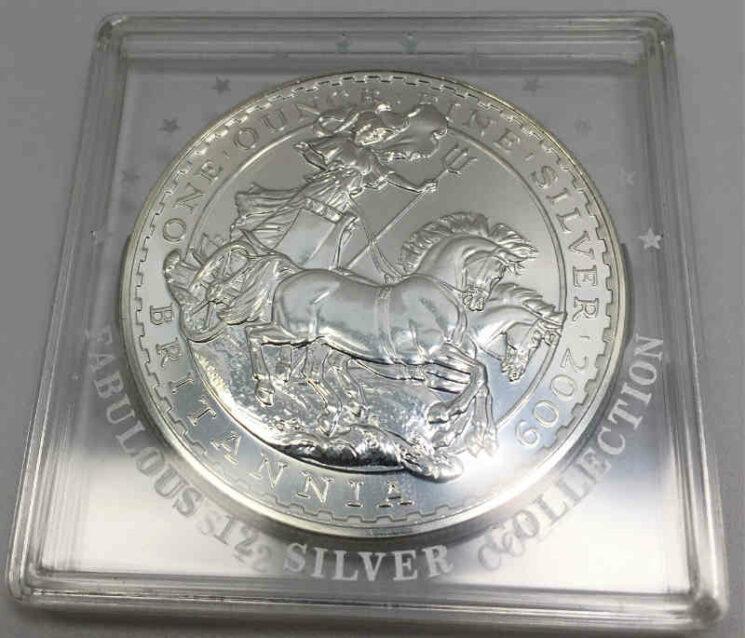 England Britannia 1 oz Silbermünze