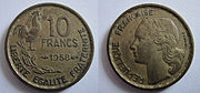Fraklreich 10 Francs