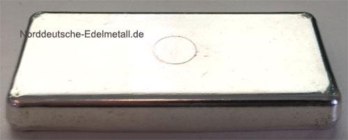 Silberbarren 500g Feinsilber 999 Schweiz Credit Suisse historisch
