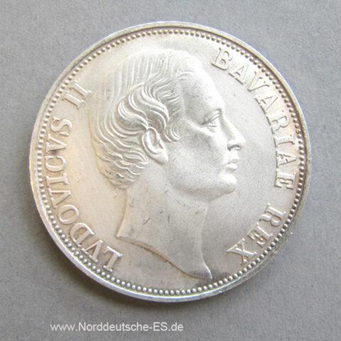 Münze Patrona Bavariae Freistaat Bayern 1868-1968 Gedenkmünze