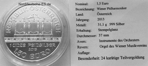 Wiener-Philharmoniker-1oz-Feinsilber-999-Sonderausgabe-2013