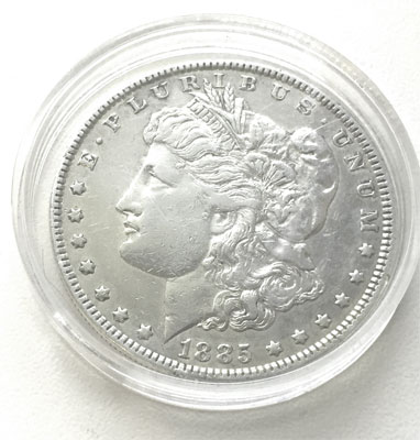 USA Liberty One Dollar 1885 Morgan Dollar