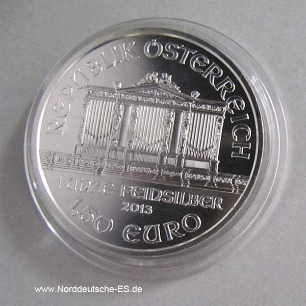 Wiener Philharmoniker 1 oz Silber teilvergoldet