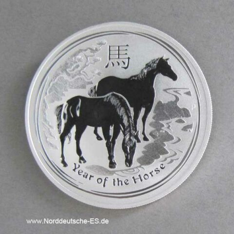 Australien 2014 Year of the Horse 1oz