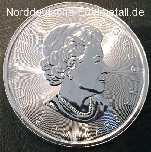 Kanada 2 Dollars 2016 Silber Wolf 3_4oz Feinsilber 9999