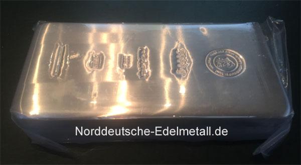 Silberbarren-5Kg-Feinsilber-999,9-Heimerle-&-Meule