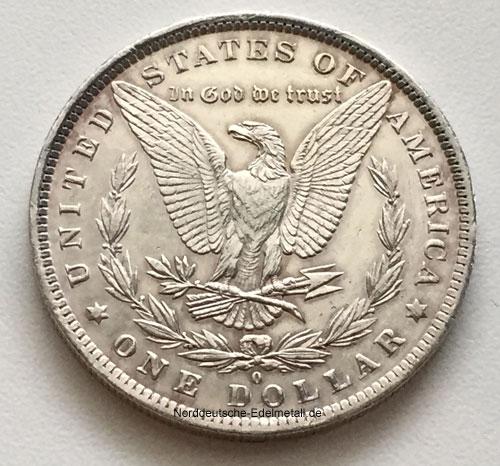 USA Liberty One Dollar 1884 Morgan Dollar