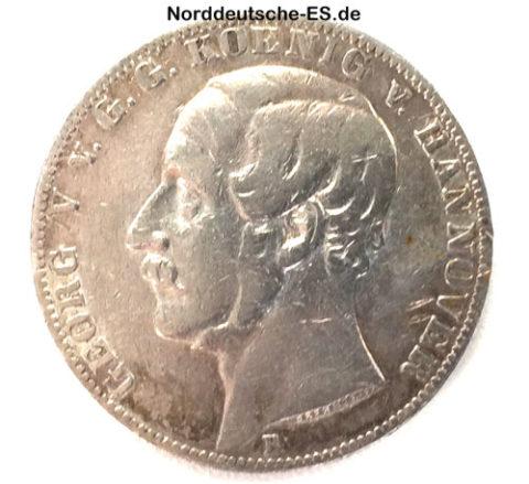 Georg-V-vGG-Koenig-von-Hannover-1861-Ein-Vereinsthaler