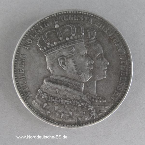 Kroenungstaler 1861 Koenig Wilhelm I Preussen.jpg